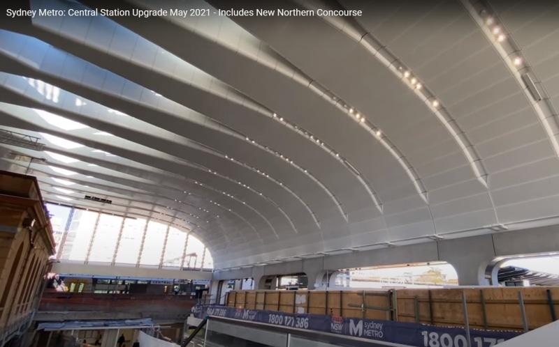 The new Concourse at Central.