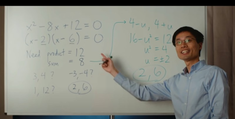 Solving the Quadratic the new, easy way