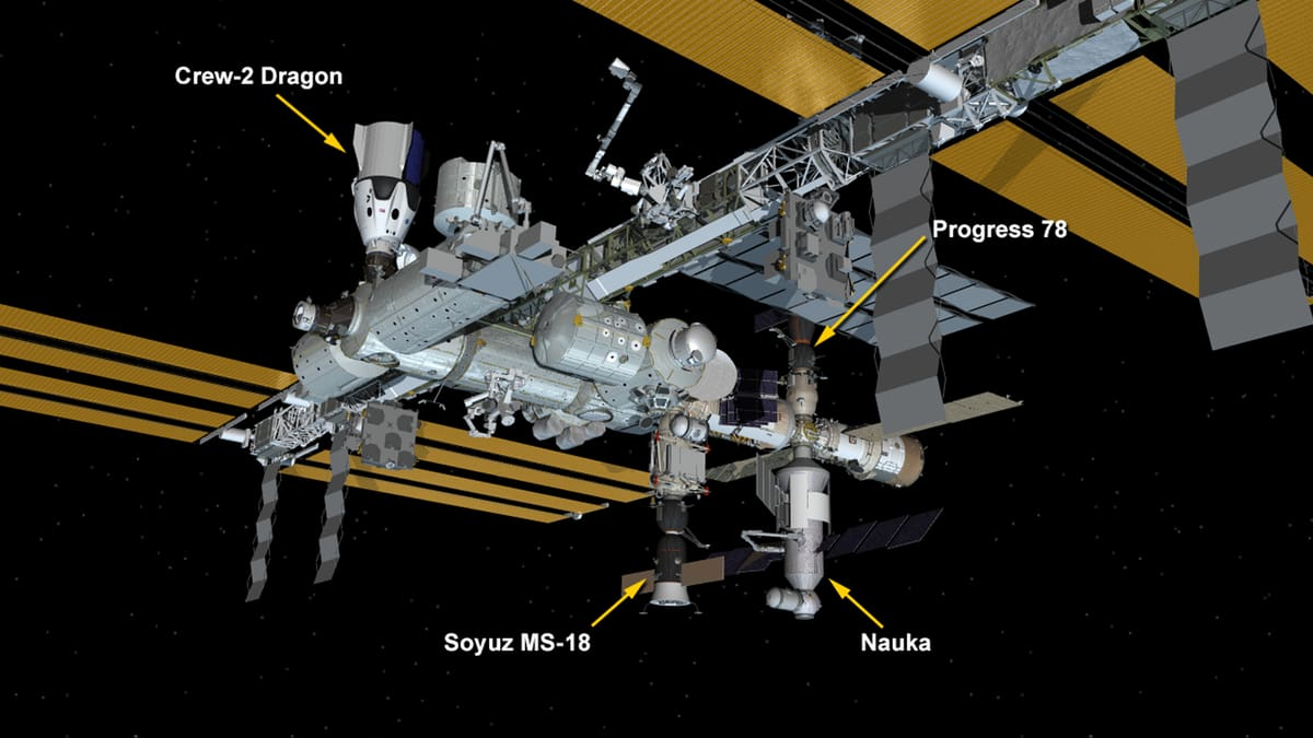 ISS joined by Nauka