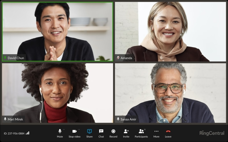 RingCentral Video Conference.
